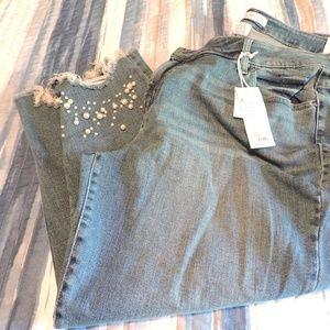 NWT Lane Bryant Girlfriend jeans sz 22